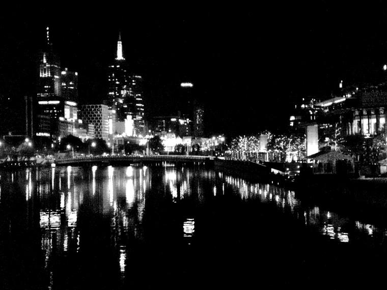 Melbourne Night Lights